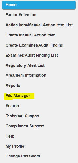 ComplySight File Manager